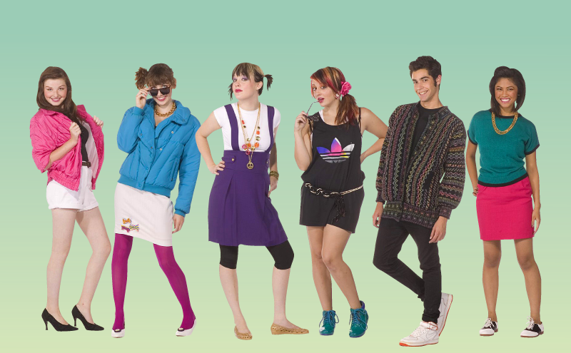 photo of girls 80's clothing № 1544